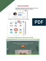 Blog y Plantilla