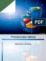 Excel 2007 Prezentacija 1 Osnovno o Excelu
