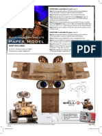 Wall e Paper Craft