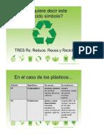 Informacion de Reciclado