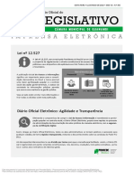 Diario Oficial Camara de Guanambi Ed 350