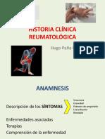 Historia Clínica Reumatológica