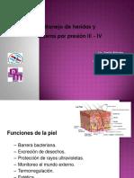 ULCERAS POR PRESIÓN GRADO III Y IV
