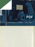 Treinta Años Contra El Cimen. 1933-1963