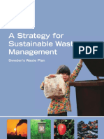 A Strategy for Sustainable Waste Management Sweden's Waste Plan