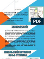 Proyecto de Instalación Eléctrica Interior (Ptei) - Diapositiva