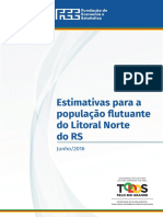20160711relatorio Populacao Flutuante Do Litoral Norte