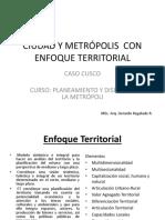Ciudad y Metrópolis Con Enfoque Territorial