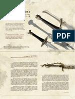 Ecos de Ydrill Palabra de Acero Compendio de Espadas Exoticas Vol 4