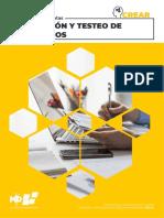 Manual Evaluación y Testeo de Prototipos