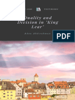 Duality and Division in King Lear
