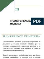 Transferencia de Masa 2018