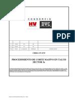 Cr 001-Civ-p19 Procedimiento de Corte Masivo Sector 3a