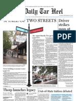 The Daily Tar Heel for September 28, 2010