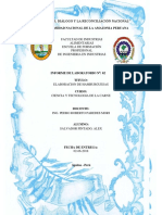 Informe 02 Determinanacionde Humedad de Las Carnes