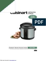 Cuisinart Electric Pressure Cooker CPC-600A