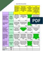 portfolio self assessment matrix  3