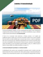 [2010.09.23] Ainda Acerca Da Crise Económica. 5) Transnacionalização e Espaços Nacionais