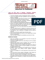Introduction to Kabbalah