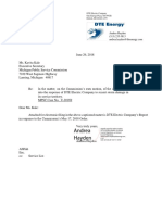 DTE Report on MPSC Investigation