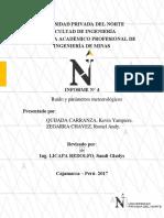 Informe de Ruido y Parametros Metereologicos