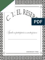Certificado Participacion Peña