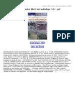 Instrumentacion Electronica (Incluye CD)