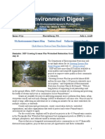 Pa Environment Digest July 2, 2018