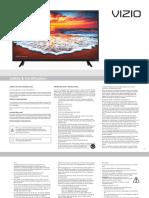 Visio D32h-F1 User Manual
