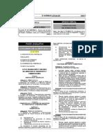 29370 Ley de Organización y Funciones Del Mtc