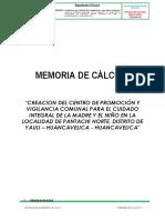 Informe de Cálculo Estrucutal y Cimentaciones.