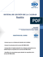 Taller Norma ISO 9001 2015 Ing Hendys Quero
