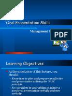 Oral Present
