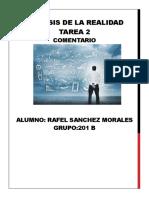 Analisis de La Realidad Tarea 2 Rafa