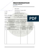 Formulir Keanggotaan E-MAIL
