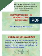 Laminas de Distribuciones de Probabilidades Especiales