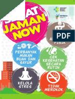 Flyer 2018 Sehat Jaman Now 15x21cm