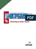 Apostila SENAC sobre Marketing nas Redes Sociais