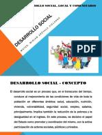 Desarrollo Social - Clase 1