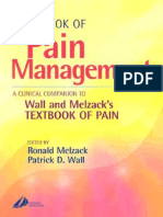 Handbook of Pain Management