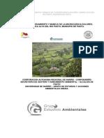 Plan de Ordenamiento y Manejo de La Microcuenca Dolores, Cuenca Alta Del Rio Pasto, Municipio De