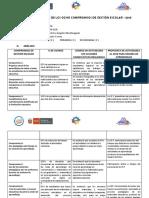 Informe Evaluación de Los Ocho Compromisos de Gestión Escolar - 2015