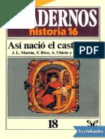 Asi nacio el castellano - AA VV.pdf