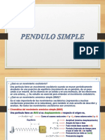 Pendulo Simple