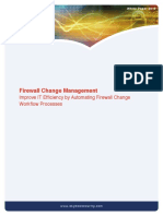 Firewall Change Management