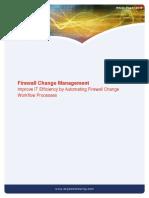 Firewall Change Management