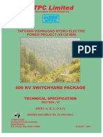 Tech Spec (Switchyard-ntpc)PDF