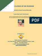 Dhyana Slokas of Sri Rudram