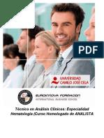 Curso Universitario Tecnico Analisis Clinico