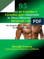 95 Recetas de Comidas y Licuados Para Aumentar La Masa Muscular en Menos de 7 Dias 136
